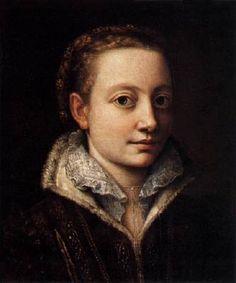 "Sofonisba Anguissola ""Self-Portrait"" 1560-1 (Pinacoteca di Brera, Milan)"