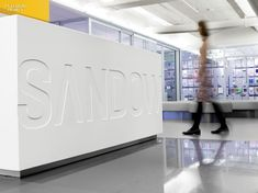 A Strong Statement: At Sandow's New York Headquarters