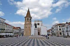Tomar, a quaint town set under a historic fortress, is a place with lots of local ambience, yet remarkably untouristed and well worth a visit. Places To Travel, Places To Go, Places In Portugal, Seattle Times, European Destination, Top Hotels, Travel And Leisure, Pilgrimage, Portuguese