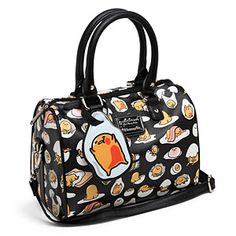 This bag features everybody's favorite melancholy foodstuff, Gudetama, the lazy egg, in his various depressed poses. With all this Gudetama lounging around on your purse, you'll feel like a motivational speaker by way of comparison.