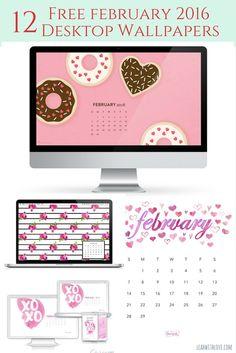 12 free february desktop wallpapers- dress up your tech!
