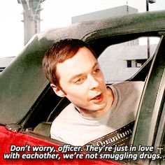 "Sheldon in the airport parking lot | Community Post: 41 Laughs We Got From ""The Big Bang Theory"""
