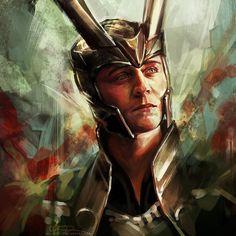 Norse God of Mischief.  Oh, Loki. <3  So Beautiful.