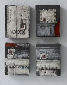 helen vaughan ceramic wall art--could also be multi-media Mix Media, Mixed Media Art, Mixed Media Painting, Creation Art, Art Diy, Ceramic Wall Art, Art Sculpture, Encaustic Painting, Ceramic Design