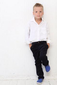 2. Festmode - Jungen Cord Hose, Hochzeit, Einschulung - ein Designerstück von mimiikids bei DaWanda