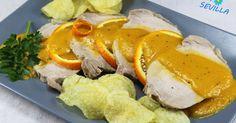 lomo a la naranja con thermomix, salsa de naranja thermomix, lomo thermomix, recetas varoma thermomix, recetas de dieta thermomix A Food, Good Food, Sushi, Mexican, Favorite Recipes, Chicken, Meat, Breakfast, Ethnic Recipes