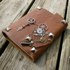 Steampunk Journal - make this to store my steampunk designs!