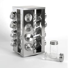 Carrusel de especias 16 frascos
