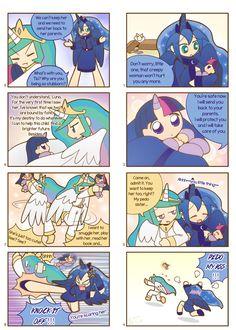 Humanized pony comic 3 ,4 by HowXu on DeviantArt