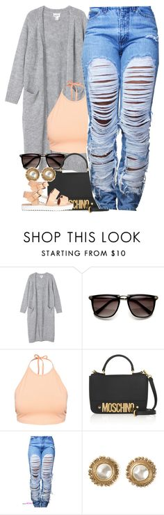 """Untitled #1362"" by power-beauty ❤ liked on Polyvore featuring Monki, NLY Trend, Moschino and Chanel"