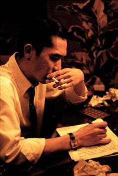 "Tony Leung, in a scene from Wong Kar-wai film ""In the mood for love"""