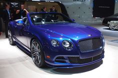 2015 Detroit Auto Show: Motor Trend Editor Favorites. Bentley Continental GT Speed Convertible. This would be sweet to tool around in at the coast!