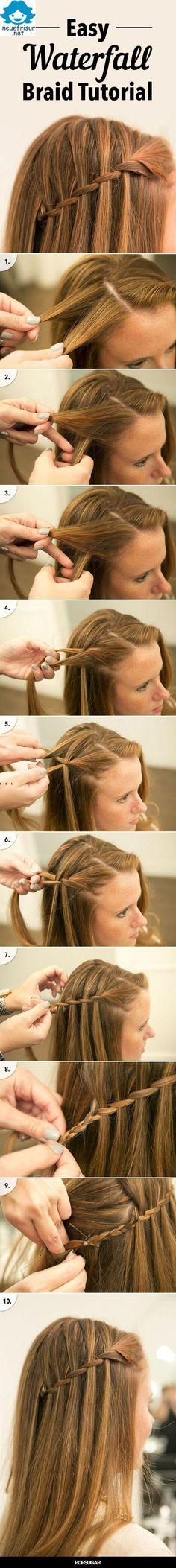DIY Waterfall Braid Hair Wir sind immer anders und immer in Mode Frisuren für Sie wieder anbieten zu können. Unser aktuelles Modell, mit Eleganz und Unterschiede mit modernen und Einfachheit bieten…