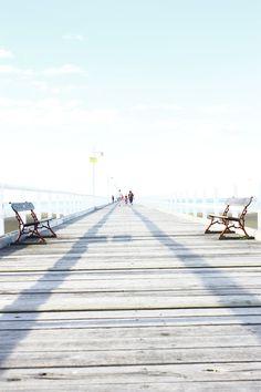 Hervey Bay pier.