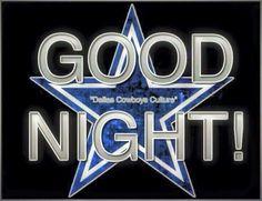 Good Night Cowboy Family!