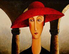 SOLD Untitled (circa by Danny McBride 22 x 28 – acrylic Joe Cocker, Amedeo Modigliani, Danny Mcbride, Romanticism Artists, Chris De Burgh, Toronto, Face Art, Art Faces, Toulouse