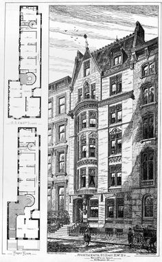 Apartment building on 21 East 21st Street, New York City