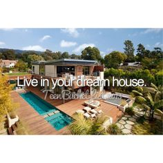 PLEASE? Please let me marry a very rich famous football or hacky player, so then, I may have my dream house :♥                                      - Brittany Mae Winter♥ Bucket list.