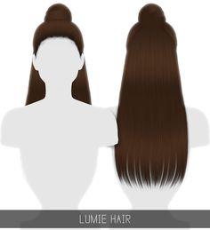 Simpliciaty: Lumie hair - Sims 4 Hairs - http://sims4hairs.com/simpliciaty-lumie-hair/