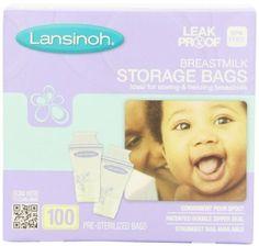 Amazon.com: Lansinoh Breastmilk Storage Bags, 100 Count: Health & Personal Care
