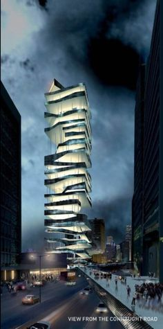 Parking Tower Hong Kong by Metaproject
