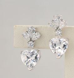 925 silver earrings, cubic zirconia stone, OEM ok, item number: BT04102