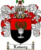 Lowery Coat of Arms / Lowery Family Crest