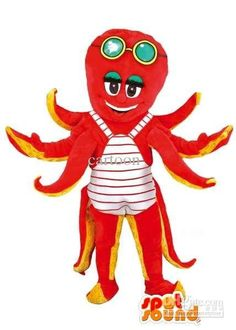 Customized Octopus Mascot Costume , Buy Mascot Costumes Custom Mascot From Cartoon, $259.53  Dhgate.Com