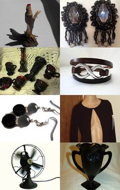 Black Is The New Black on Etsy - Pinned with TreasuryPin.com