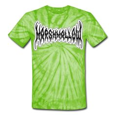 SICKIE THREADS   BRUTAL MARSHMALLOW - Unisex Tie Dye T-Shirt Cool Ties, Tie Dye Patterns, Tie Dye T Shirts, Unique Outfits, Comfortable Fashion, Good People, Marshmallow, Snug Fit, Fabric Weights