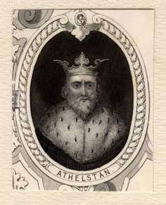 King Athelstan (Aethelstan) (895-940) National Portrait Gallery, London