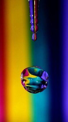 Taste The Rainbow! Fotografia Macro, Taste The Rainbow, Over The Rainbow, Rainbow Water, Color Splash, Color Pop, Colour Colour, Color Depth, All The Colors
