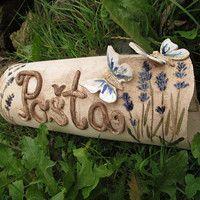 Clay Art, Ceramic Art, Garden Art, Signages, Pottery, Ceramics, Home Decor, Houses, Letters
