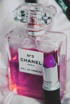 Chanel in purple