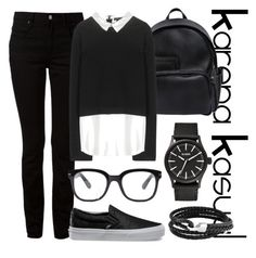 """KarenaKasual-Why Black?"" by nesyagata on Polyvore"