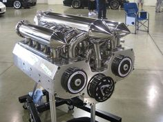 12 rotor engine ! https://www.youtube.com/watch?v=Q2IFWveYBRs