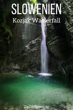 Kozjak Wasserfall Slowenien reisen 2 Reisen In Europa, Wonderful Places, Road Trip, Outdoor, Beautiful, Travelling, Pictures, Traveling Europe, Holiday Travel