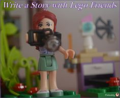 What you need to help a child plan and write a story using Lego Friends - I used the Jungle Tree Sanctuary Set.