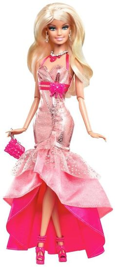 Barbie Fashionistas In The Spotlight Gown Doll - Pink   |  @ⓚⓘⓜⓛⓤⓓⓒⓞⓜ