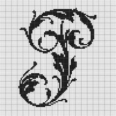 alphabet P leafy glade