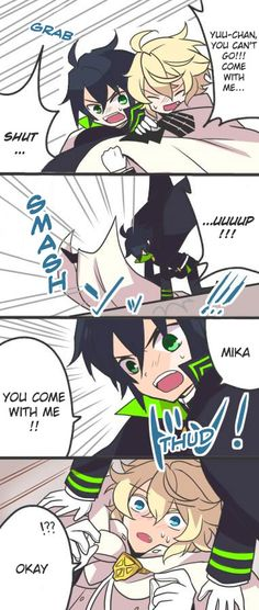Owari no Seraph It's so GOOOOOOD!!! I'm watching the Anime so far, so good!