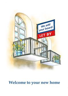 Greetings Card for letting Agents to send to tenants when they move in. Reference Number: LB38