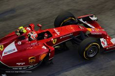 Kimi Raikkonen, Ferrari, Singapore, 2014 2014 Singapore Grand Prix practice