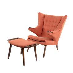 Teddy Lounge Chair & Ottoman   dotandbo.com