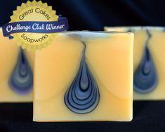 Lemon Mint Teardrop Soap by Kapia Mera Soap Co.