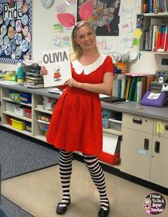 Trying to figure out how to dress for your school's Halloween or fall celebration? How about one of these storybook themed costumes? They're sure to be a hit with your students!