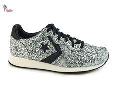 Converse - Converse Auckland Racer Chaussures Femme Argent Scintillement, argent, 40.5 EU - Chaussures converse (*Partner-Link)