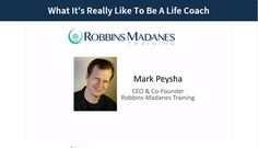 Robbins-Madanes Training - Free Video Series - How Transformation Works