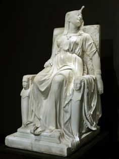 The Death of Cleopatra by Edmonia Lewis, 1876.