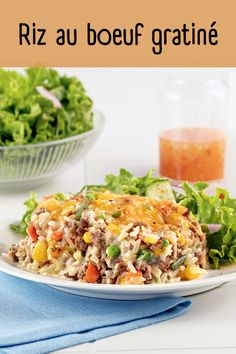 Yummy Recipes, Yummy Food, Fried Rice, Fries, Ethnic Recipes, White Rice, Shredded Beef, Suppers, Main Course Dishes